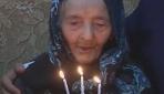 113'üncü yaşında pasta kestiler