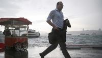 İstanbulda sağanak yağış