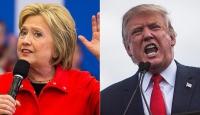 Clinton, Trumpın 8 puan önünde