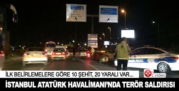 İstanbul Atatürk Havalimanında terör saldırısı