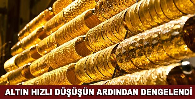 Gram altın 123 lira seviyelerinde dengelendi