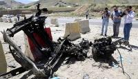 Teröristler araçlarını gasbetmek istedikleri vatandaşları taradı