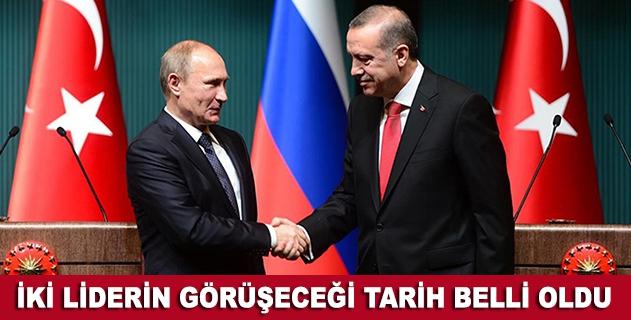 Erdoğan ve Putin G20 Zirvesinde görüşecek