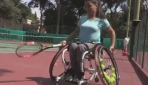 Paralimpik sporcunun hedefi bitmedi