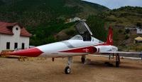 F-5 tipi savaş uçağı Gümüşhanede sergilenecek