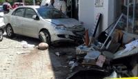 Bodrumda trafik kazasında 8 kişi yaralandı
