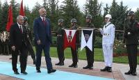Arnavutluk Başbakanı resmi törenle karşılandı