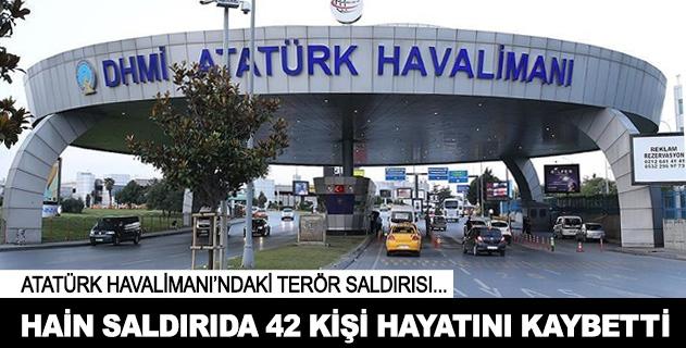 Terör saldırısında ölenlerin sayısı 42ye yükseldi
