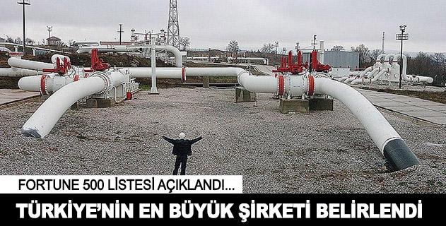 İşte Türkiyenin en büyük şirketi