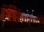 Avustralyanın Victoria eyaleti de Türk bayrağının renkleriyle ışıklandırıldı