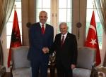 Arnavutluk Başbakanı Rama, Ankarada