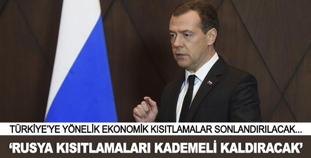 Rusya kısıtlamaları kademeli kaldıracak