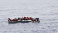 Batmak üzere olan teknedeki 107 kişi kurtarıldı