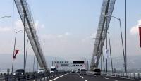 Osmangazi Köprüsünde bayram yoğunluğu