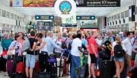 Rus turistler Türkiye sevinci yaşıyor
