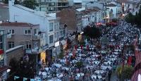 Edirnede 7 bin kişilik sokak iftarı