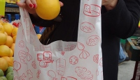 Fransada marketlerde plastik poşet yasağı