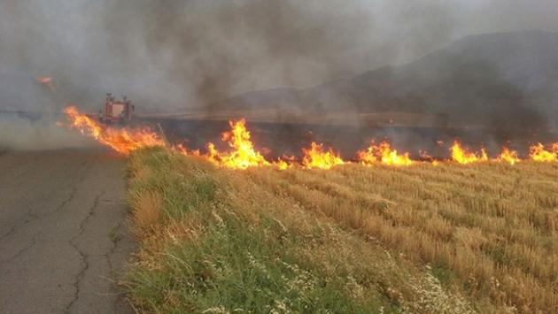 İzmir Bucada yangın