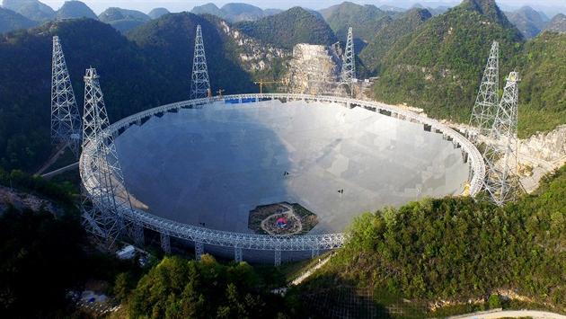 Dünyanın en büyük teleskopu kuruldu