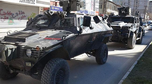 Mardinde sokağa çıkma yasağı