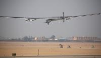 Güneş enerjisiyle çalışan Solar Impulse 2 Kahirede
