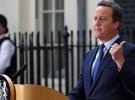 Cameron, istifasını Kraliçe'ye sundu