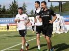 Gökhan Gönül, Beşiktaş'ta ilk antrenmanına çıktı