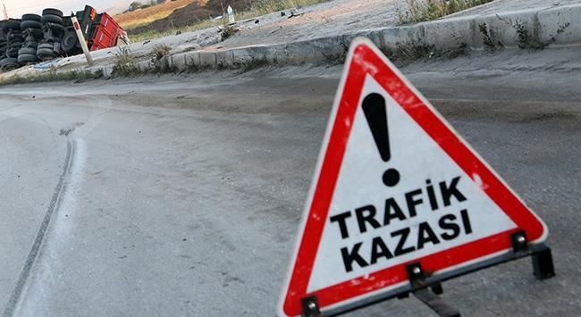Mardinde trafik kazası: 1 ölü, 2 yaralı