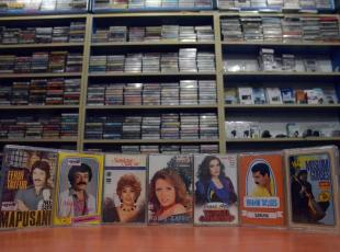 Eski kasetçinin koleksiyonu