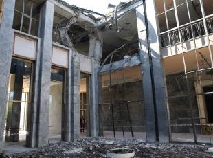 TBMM'de büyük hasar
