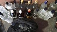 Evi sahte içki imalathanesine çevirmişler