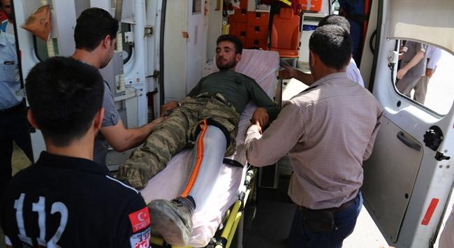 Siirtte patlayıcı infilak etti: 1 korucu şehit, 4 yaralı