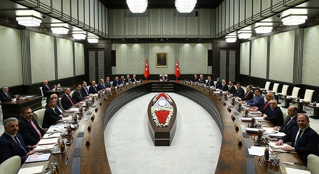 Milli Güvenlik Kurulu bugün toplanacak