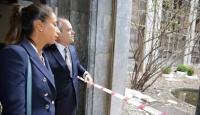 Bakan Kılıç, Büyükakçaya hasar gören TBMMyi gezdirdi