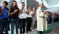 Darbe girişiminde şehit olanlar Belçikada dualarla anıldı