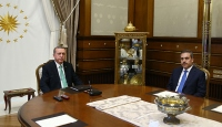 Cumhurbaşkanı Erdoğan, Fidanı kabul etti