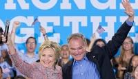 Clintonın başkan yardımcısı adayı Kaine