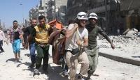 Rejim ve Rus uçakları Halepi vurdu: 19 ölü