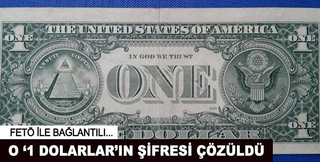1 dolarlık banknotların sırrı çözüldü