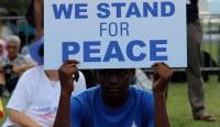 Amerikalı Müslümanlardan terörizme karşı gösteri