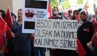 Kanadadaki Türkler FETÖ darbe girişimini protesto etti