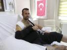 Kahraman yaralı polisin gözünü açınca ilk sorduğu soru