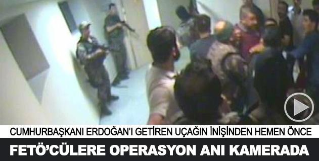 Atatürk Havalimanı Kulesinde FETÖcülere operasyon kamerada
