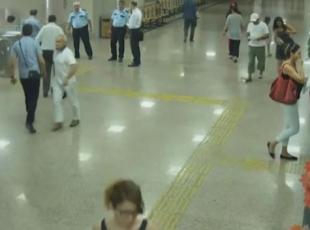 Tutuklanan hakimin İzmir Adliyesindeki görüntüleri