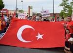 Kanadada Türkler, Milli İrade ve Demokrasi Yürüyüşü yaptı