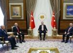 Cumhurbaşkanı Erdoğanın liderleri kabulü