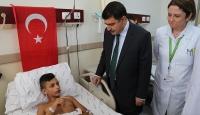 İstanbul Valisi Şahinden yaralılara ziyaret