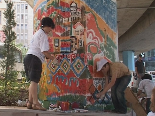 Trabzonun Kültürel Renkliliği Duvarlarda