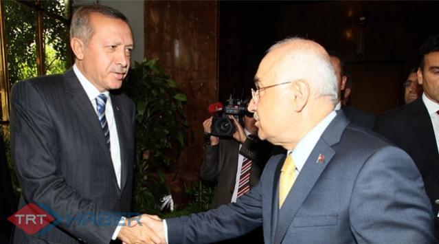 Erdoğan ile Çiçek Görüştü