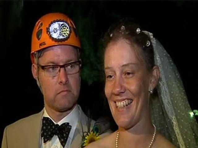 Sonunda Orada da Evlendiler...